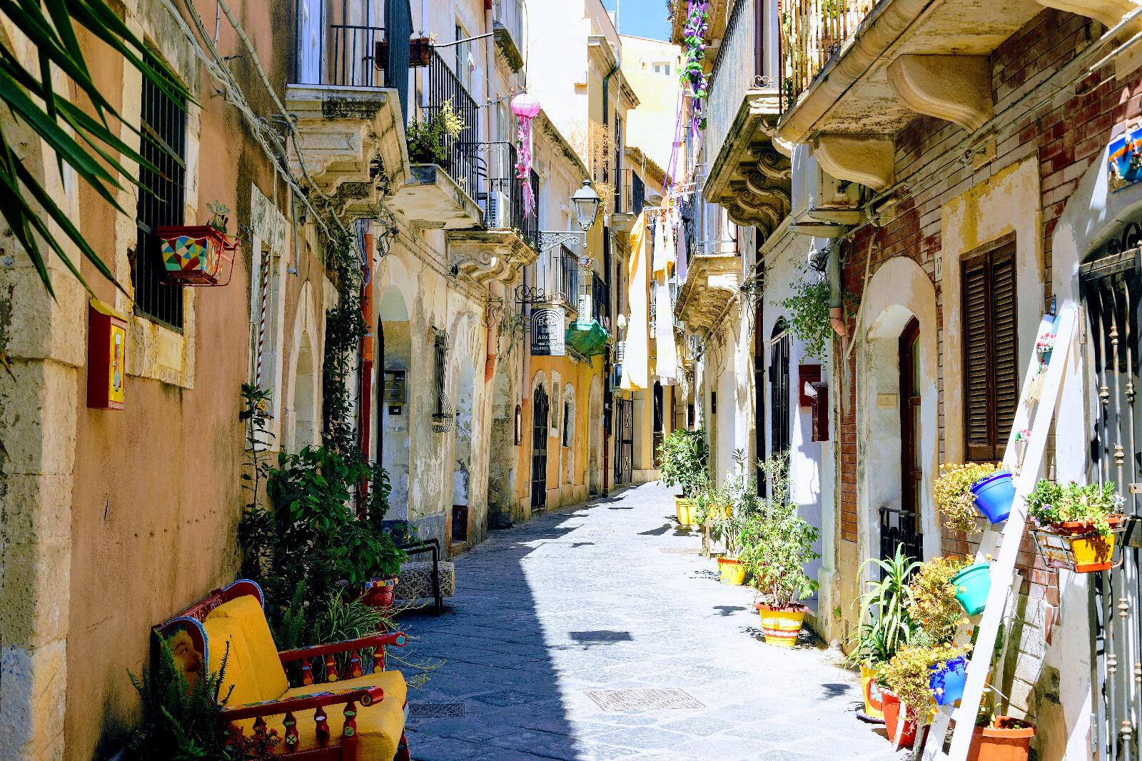 Ortigia Via Cavour